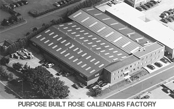 The Purpose Built Rose Calendars Factory