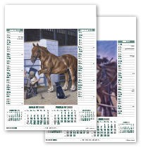 The Working Horse Calendar