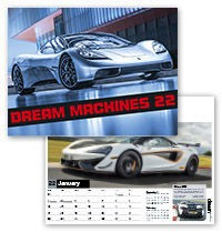 Dream Machines Wall Calendar